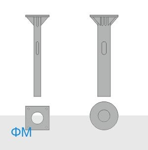 ФМ-0,325-2,5-400 фундамент