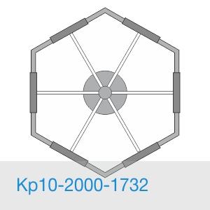 Кр10-2000-1732 консольный кронштейн