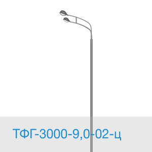 Силовая опора ТФГ-3000-19,0-02-ц