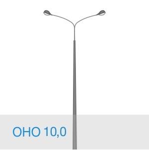 Несиловая опора освещения ОНО 10,0