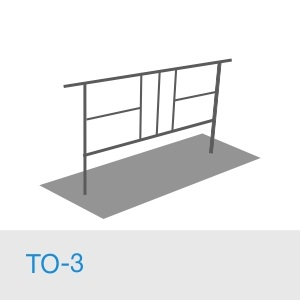 Тротуарное ограждение ТО-3