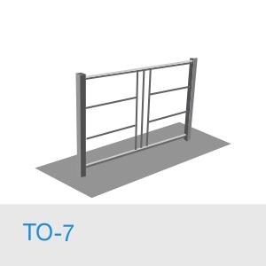 Тротуарное ограждение ТО-7