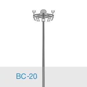 Прожекторная мачта освещения ВС-20-А/24-II