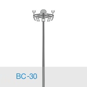 Прожекторная мачта освещения ВС-30-А/24-II