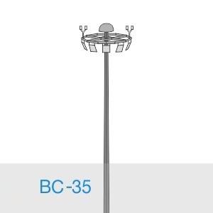 Прожекторная мачта освещения ВС-35-А2/36-II