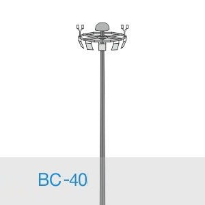 Прожекторная мачта освещения ВС-40-А2/36-II