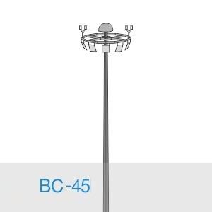 Прожекторная мачта освещения ВС-45-А2/48-II