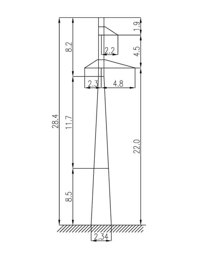 1П110-1 промежуточная опора