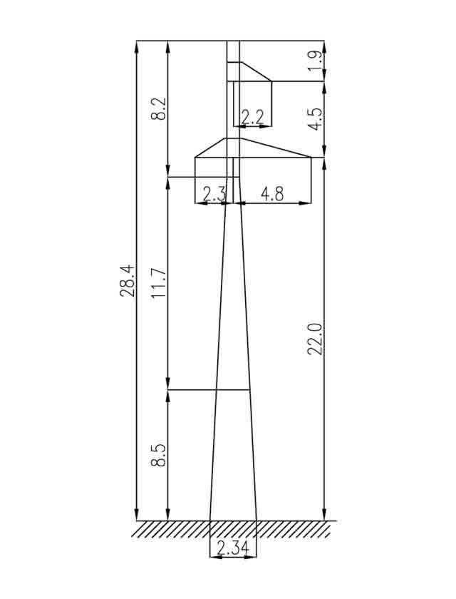 1П110-3 промежуточная опора