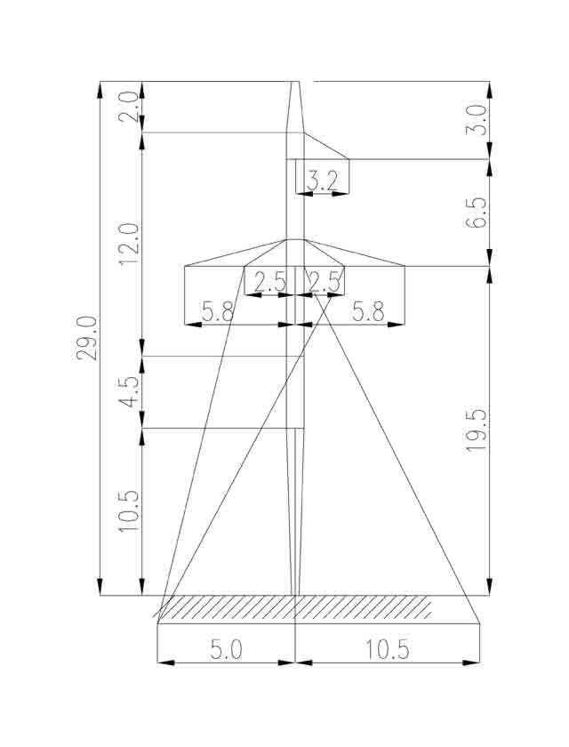 1П220-1-6.0 промежуточная опора