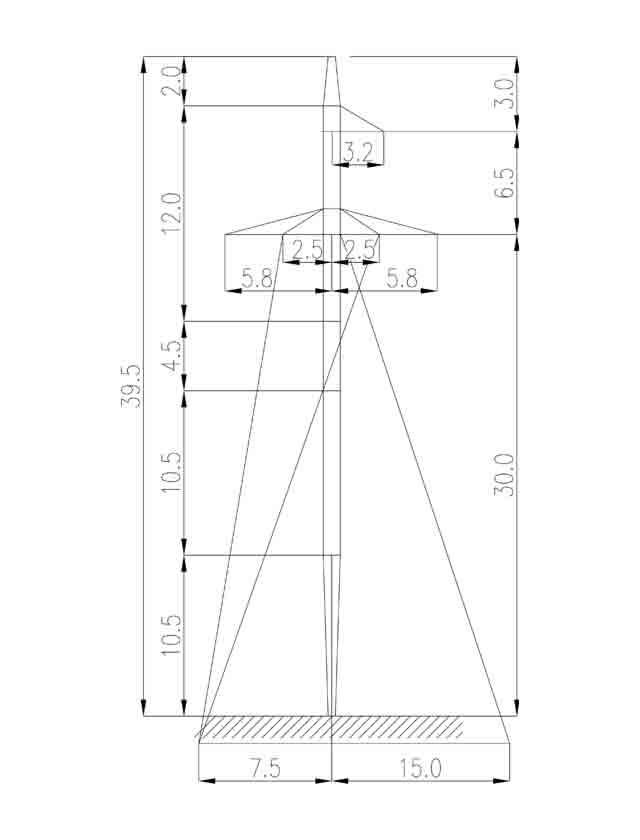 1П220-1+4.5 промежуточная опора