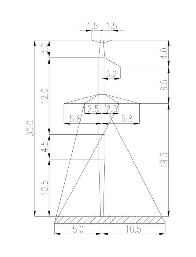 1П220-1Т-6.0 промежуточная опора