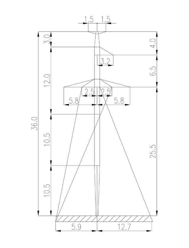1П220-1Т промежуточная опора