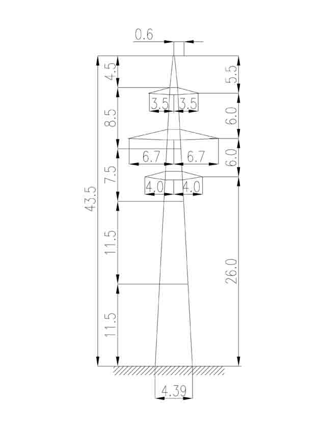 1П220-2 промежуточная опора