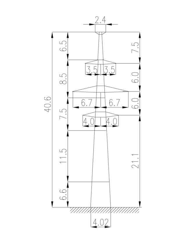 1П220-2Т-4.9 промежуточная опора