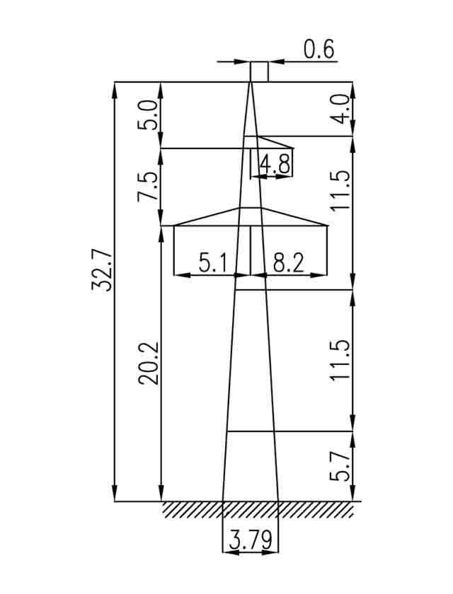1П330-1-5.8 промежуточная опора