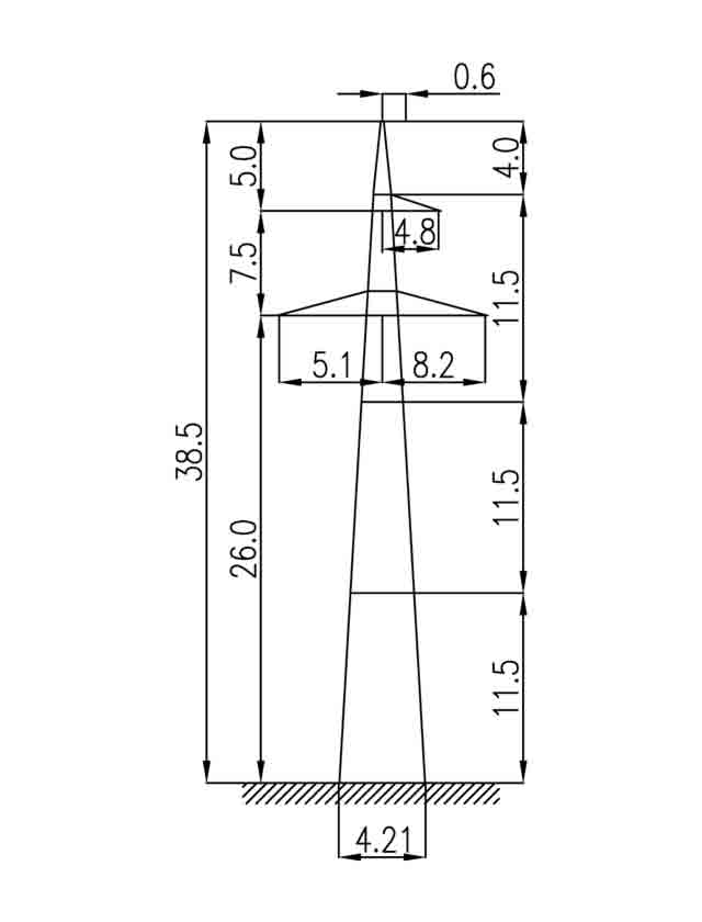 1П330-1 промежуточная опора