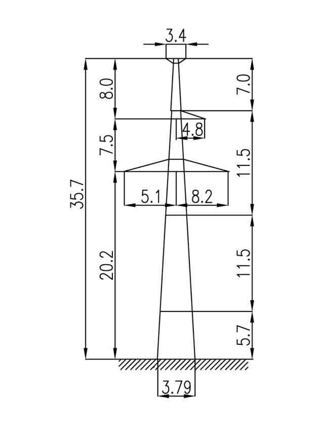 1П330-1Т-5.8 промежуточная опора