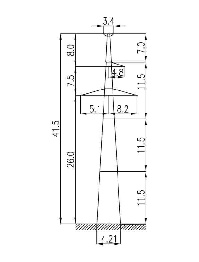 1П330-1Т промежуточная опора