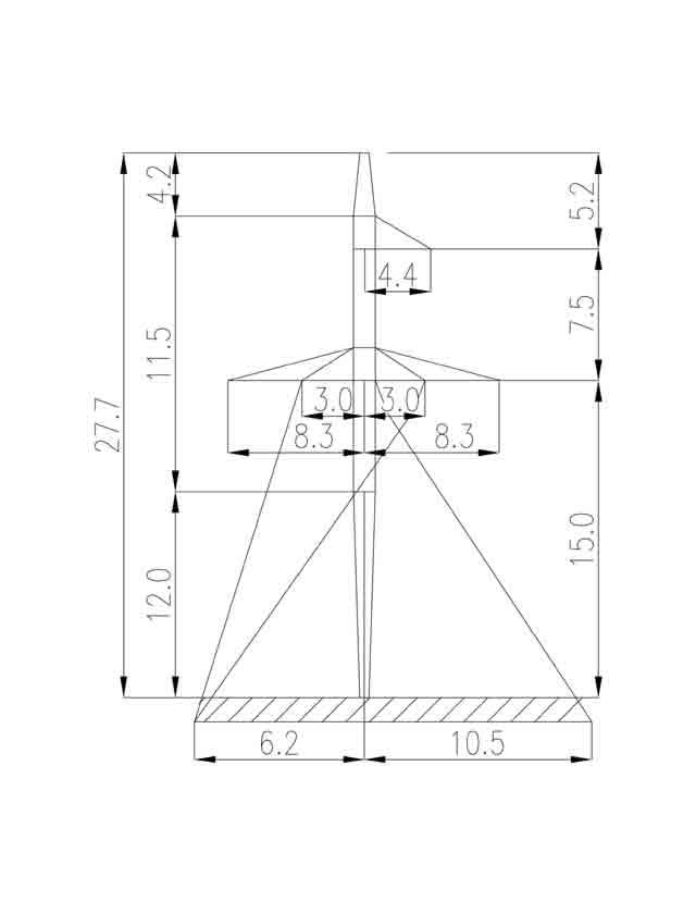 1П330-3-12.0 промежуточная опора