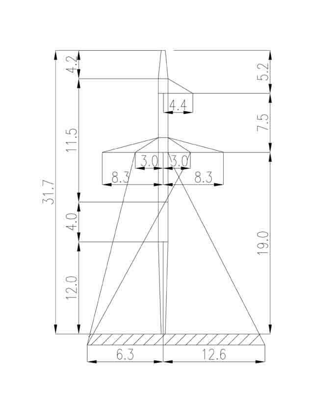1П330-3-8.0 промежуточная опора