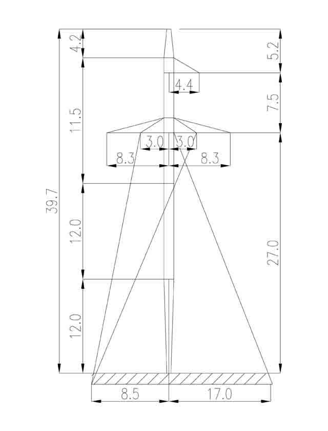 1П330-3 промежуточная опора
