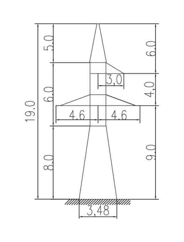 1У110-1 анкерная опора