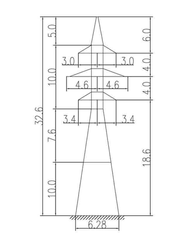 1У110-2+10 анкерная опора