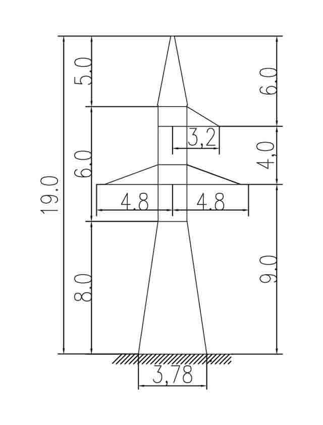 1У110-3 анкерная опора