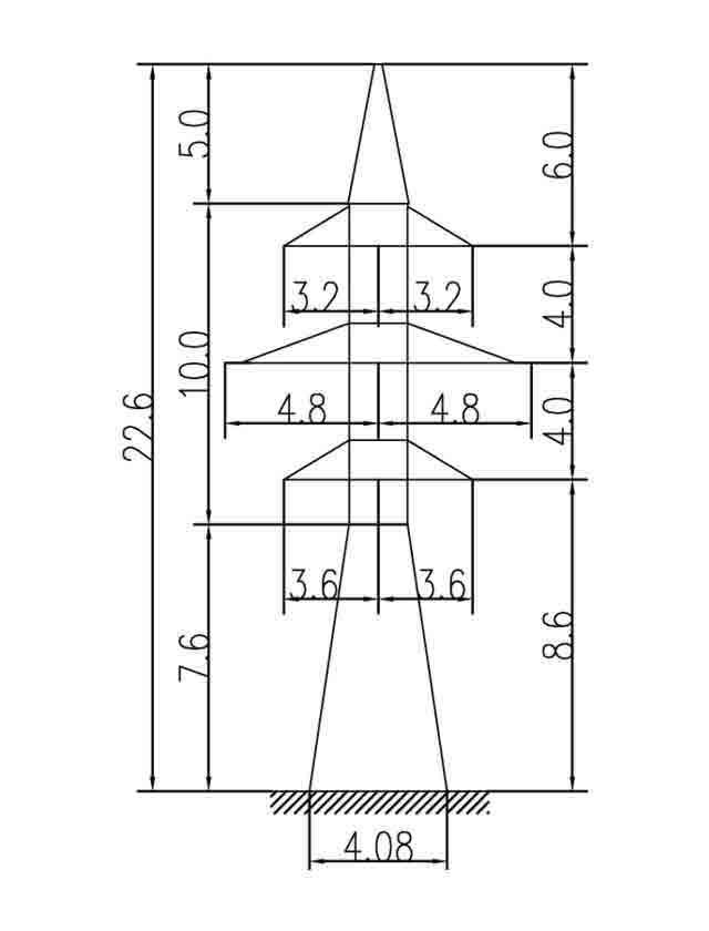1У110-4П анкерная опора