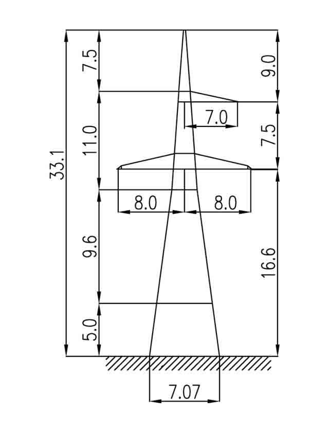 1У330-1+5 анкерная опора