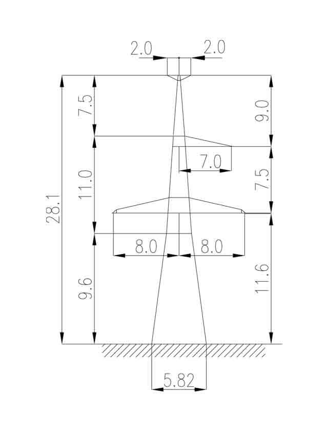 1У330-1Т анкерная опора