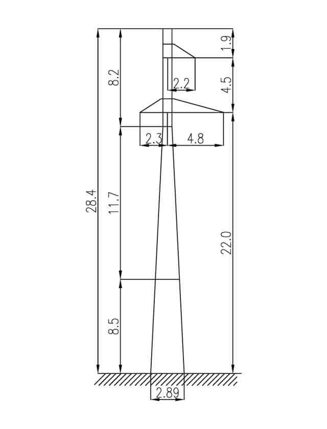 2П110-1 промежуточные опоры