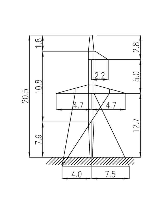 2П110-11-10.8 промежуточные опоры