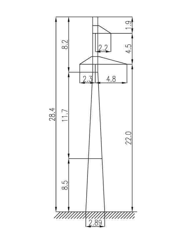 2П110-3 промежуточные опоры
