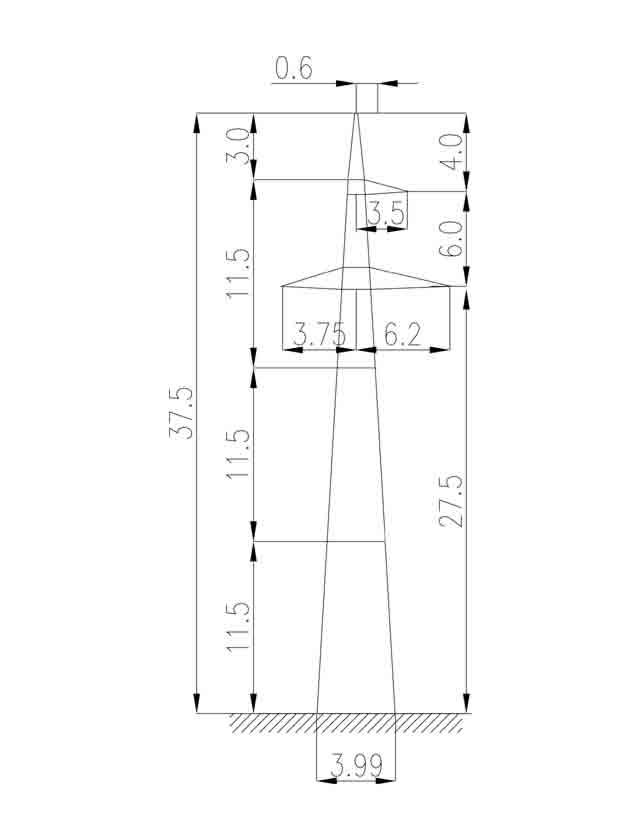 2П220-1 промежуточная опора