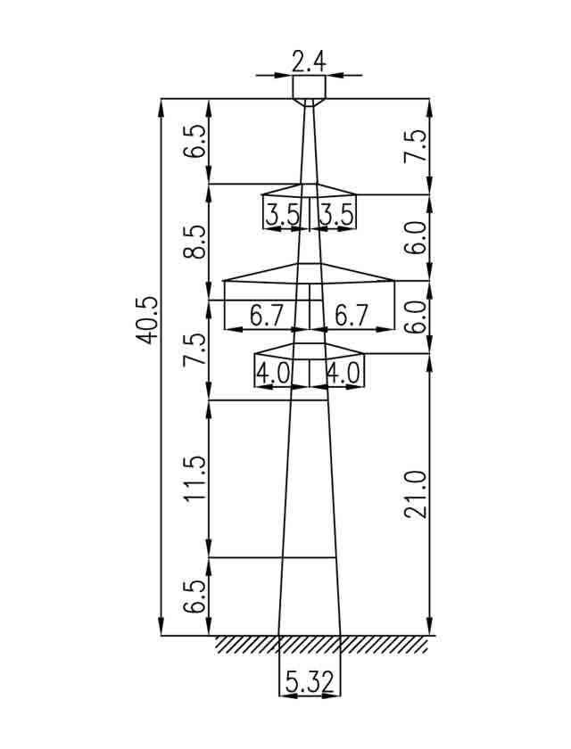 2П220-2Т-5.0 промежуточная опора