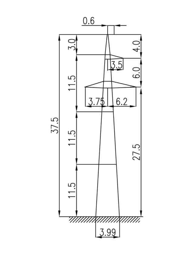 2П220-3 промежуточная опора