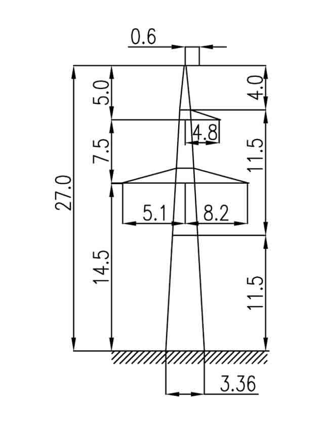 2П330-1-11.5 промежуточная опора