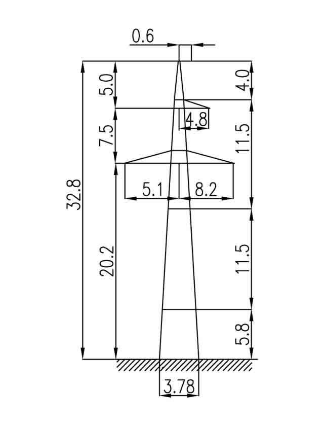 2П330-1-5.7 промежуточная опора