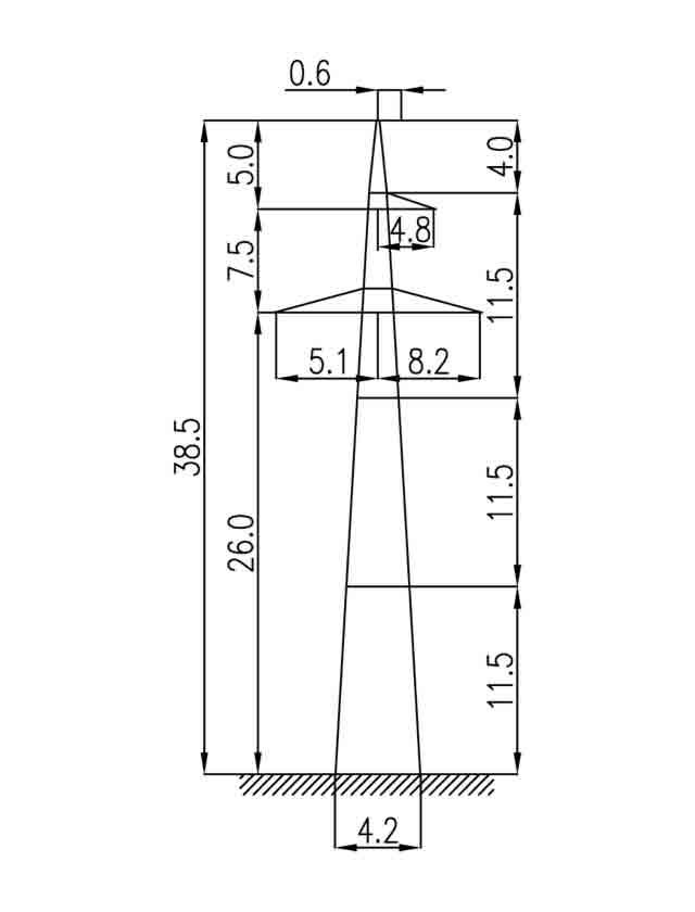 2П330-1 промежуточная опора