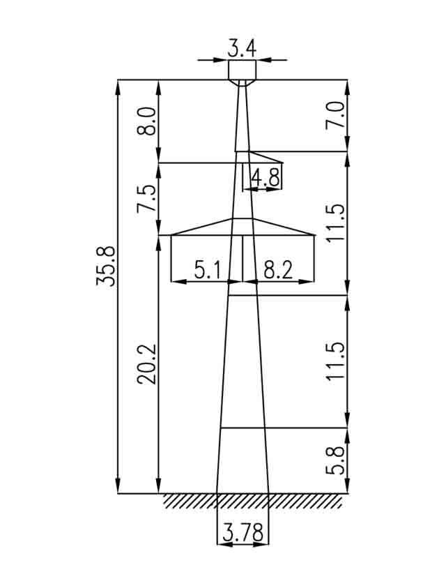 2П330-1Т-5.7 промежуточная опора