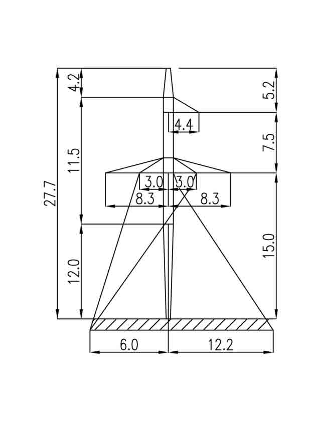 2П330-5-12.0 промежуточная опора