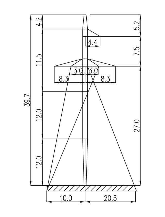 2П330-5 промежуточная опора