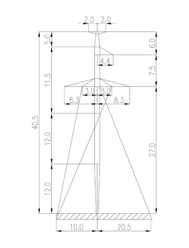 2П330-5Т промежуточная опора