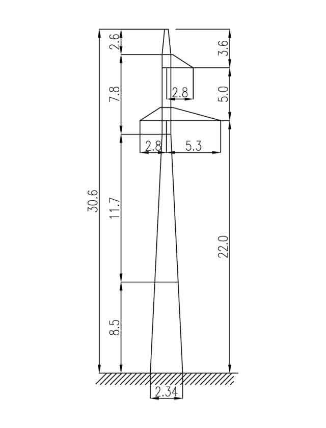 3П110-1 промежуточная опора