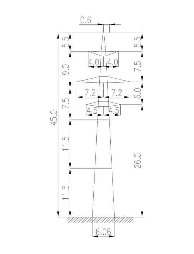 3П220-2 промежуточная опора