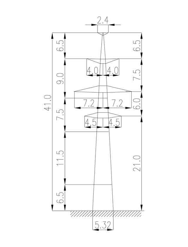 3П220-2Т-5.0 промежуточная опора