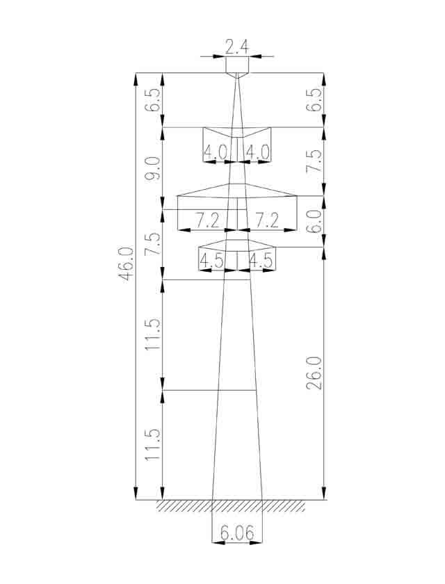 3П220-2Т промежуточная опора