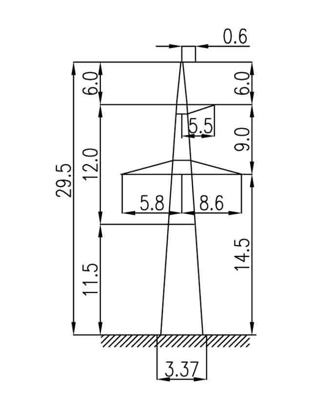 3П330-1-11.5 промежуточная опора